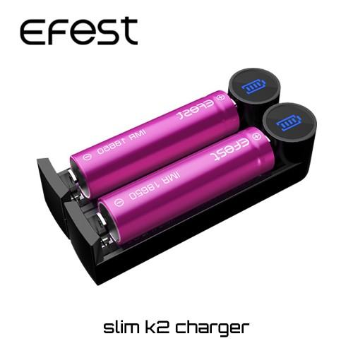 Φορτιστης Efest Slim K2 USB Charger
