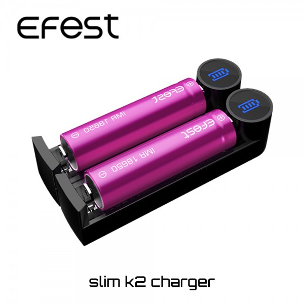 Φορτιστης Efest Slim K2 USB Charger