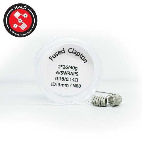 HALO Coils Fused Clapton Ni80 0.18 Ohm Coils - Ετοιμες Αντιστασεις