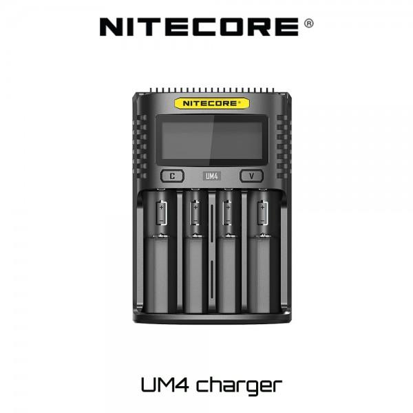Φορτιστης Nitecore UM4 Charger