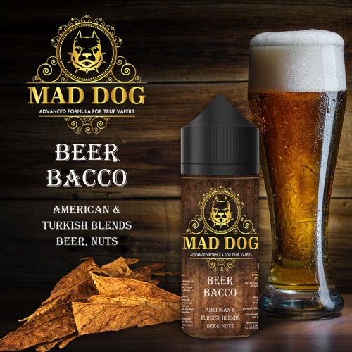 Mad Juice Beer Bacco 20ml 100ml μπουκάλι