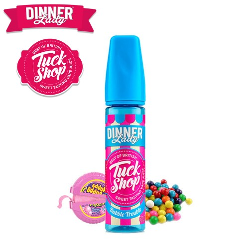 Bubble Trouble Dinner Lady Shake & Vape 20/60ml