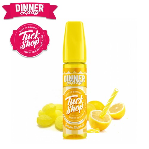 Lemon Sherbet Dinner Lady Shake & Vape 20/60ml