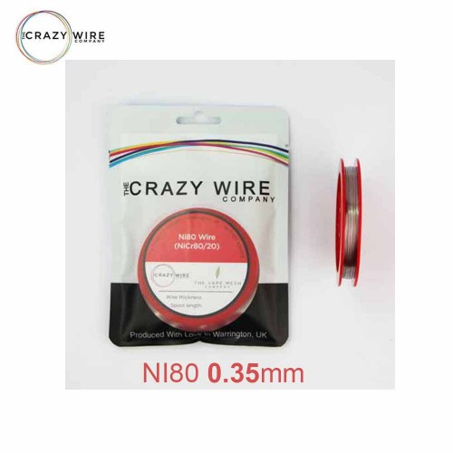 Crazy Wire Ni80 0.35mm 10m wire Σύρμα