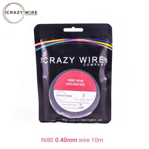 Crazy Wire Ni80 0.40mm 10m wire Σύρμα