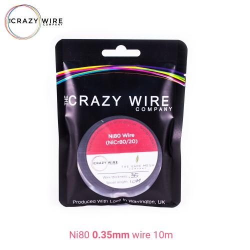 Crazy Wire Ni80 0.35mm 10m wire Σύρμα