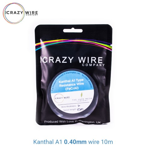 Crazy Wire Kanthal A1 0.40mm 10m wire Σύρμα