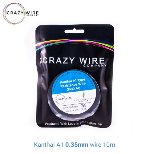 Crazy Wire Kanthal A1 0.35mm 10m wire Σύρμα