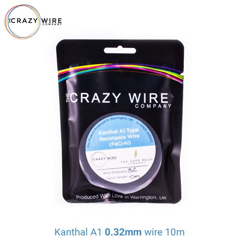 Crazy Wire Kanthal A1 0.32mm 10m wire Σύρμα