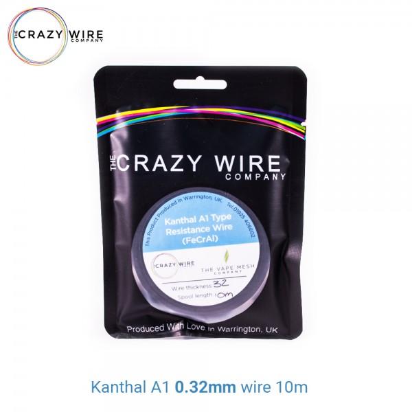 Crazy Wire Kanthal A1 0.32mm 10m wire Σύρμα