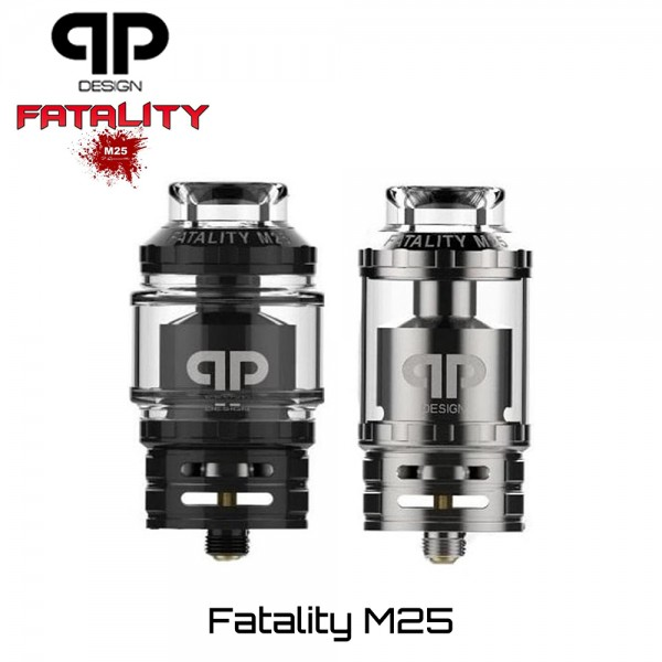 QP Design Fatality M25 RTA Επισκευασιμος Ατμοποιητης