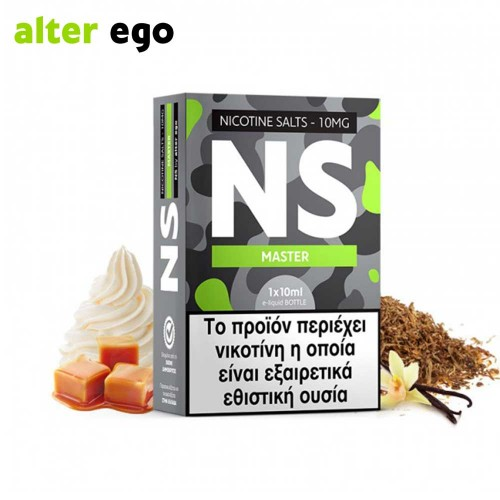 Alter ego NS Master - Nicotine Salts 10ml