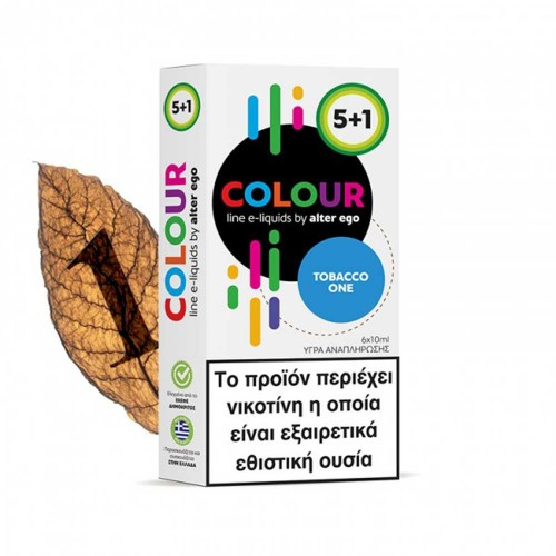 Tobacco One - Alter eGo Colours 5+1 60ml