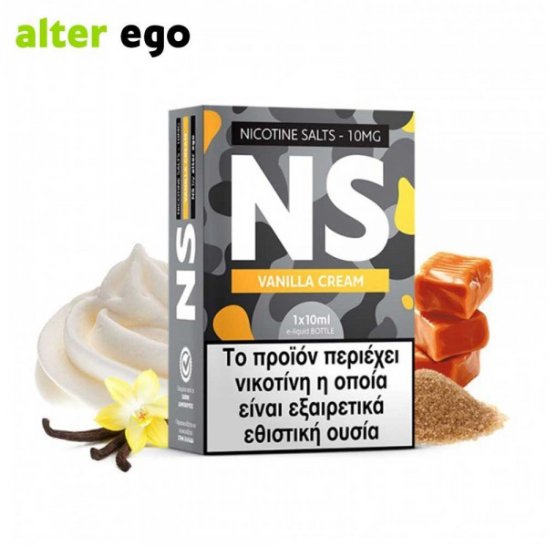 Alter ego NS Vanilla Cream - Nicotine Salts