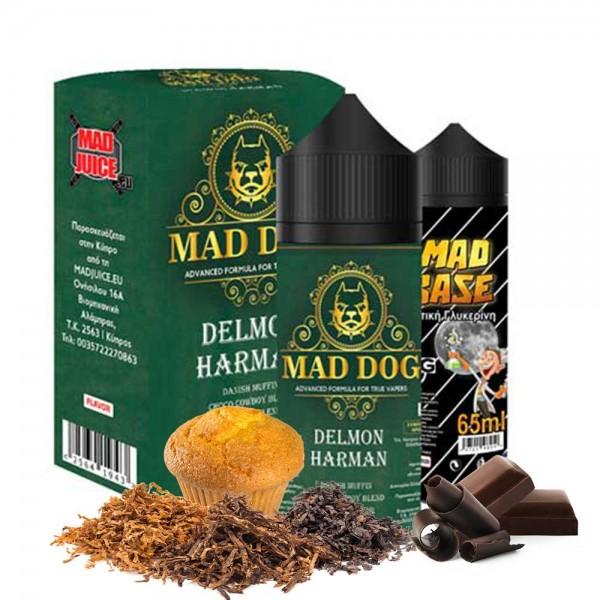 Mad Juice Delmon Harman 20ml 100ml μπουκάλι