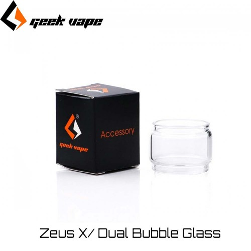Geekvape Zeus X/ Dual Bubble Glass - Ανταλλακτικο τζαμακι