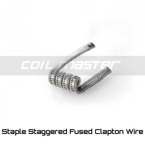 Coil Master Staple Staggered Fused Clapton Coils Ετοιμες Αντιστασεις