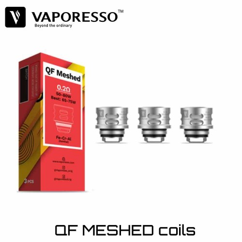 Vaporesso QF Mesh 0.2 Ohm Coils - Ανταλλακτικη Αντισταση