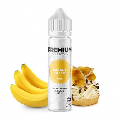 Banana Cream Alter ego Premium Shortfill 40/60ml