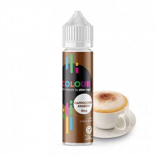 Cappuccino Arabica Alter ego Colours Shortfill 40/60ml