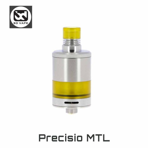 PRECISIO MTL SILVER by BD VAPE Επισκευάσιμος RTA Ατμοποιητής
