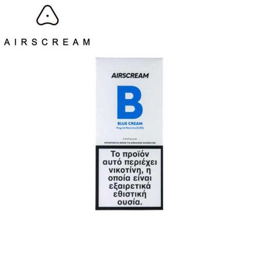 Airscream Pops Blue Cream - 4x Pods