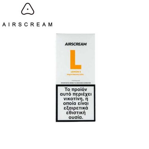 Airscream Pops Lemon S - 4x Pods