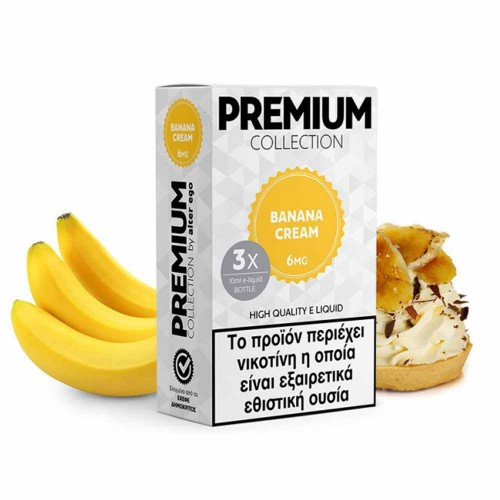 Banana Cream 3x10ml alter ego Premium