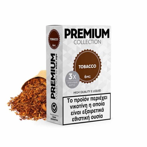 Tobacco 3x10ml alter ego Premium