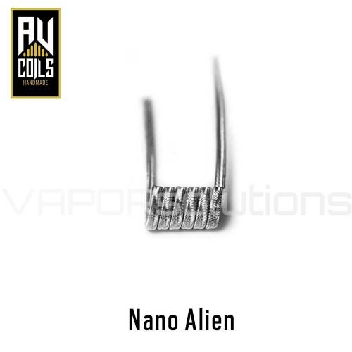 AV Coils Nano Alien Ni80 0.21 Ohm Coils - Ετοιμες Αντιστασεις