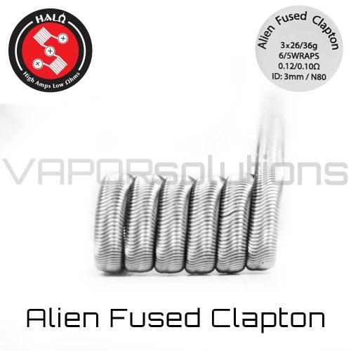 HALO Coils Alien Fused Clapton Ni80 0.12 Ohm Coils - Ετοιμες Αντιστασεις