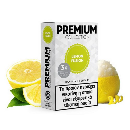 Lemon Fusion 3x10ml alter ego Premium