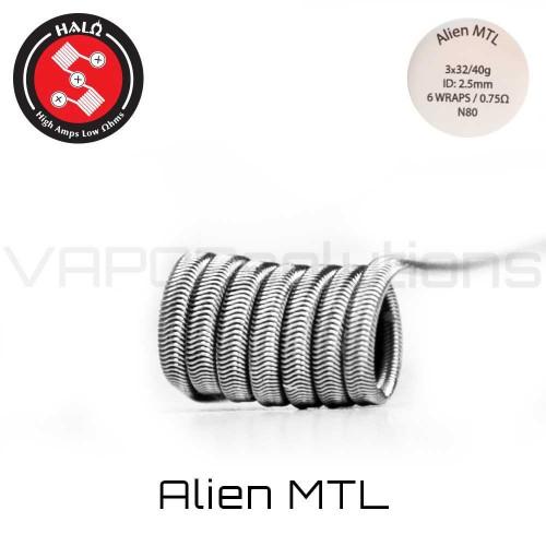 HALO Coils MTL Ni80 0.7 Ohm Coils - Ετοιμες Αντιστασεις
