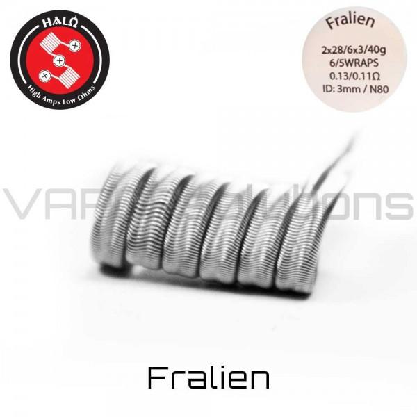 HALO Coils Fralien Ni80 0.13 Ohm Coils - Ετοιμες Αντιστασεις