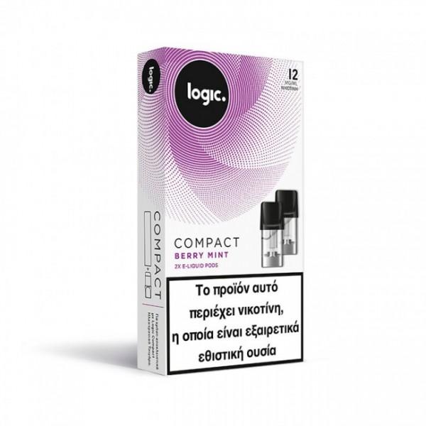 Berry Mint Logic Compact 2x Pods κάψουλες