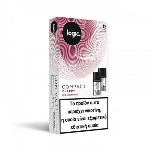 Cherry Κεράσι Logic Compact 2x Pods κάψουλες