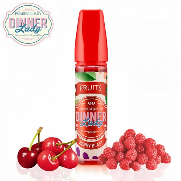 Berry Blast Dinner Lady Shake & Vape