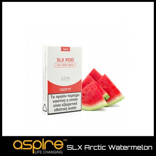 Aspire SLX Arctic Watermelon - 3x Pods