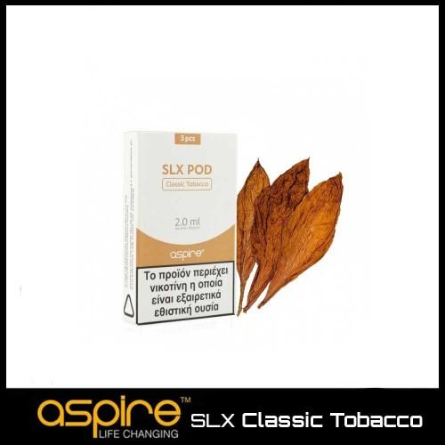 Aspire SLX Classic Tobacco - 3x Pods