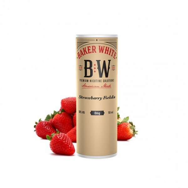 Strawberry Fields - Baker White 10ml