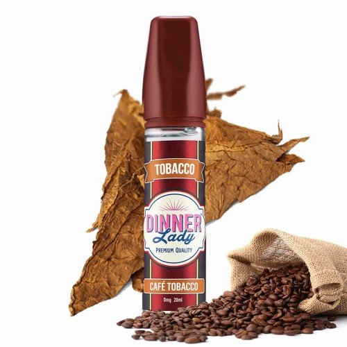 Cafe Tobacco Dinner Lady Shake & Vape 20/60ml