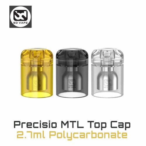 PRECISIO MTL Top Cap 2.7ml Polycarbonate