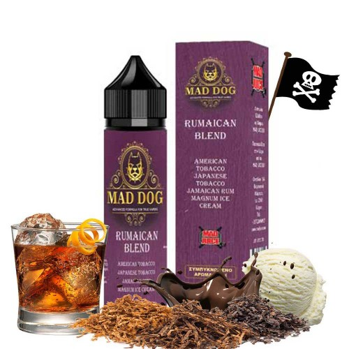 Mad Juice Rumaican Blend 12ml 60ml μπουκάλι