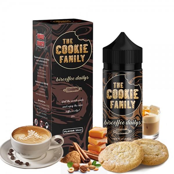 Mad Juice Biscoffee Dailys 30ml 120ml μπουκάλι