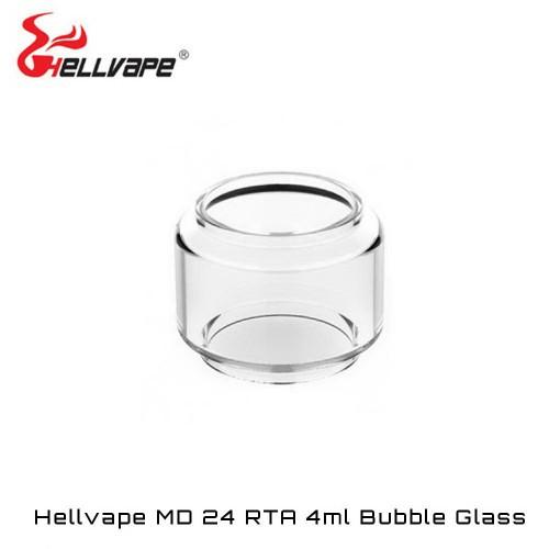 Hellvape MD 24 RTA Bubble Glass - Ανταλλακτικο τζαμακι