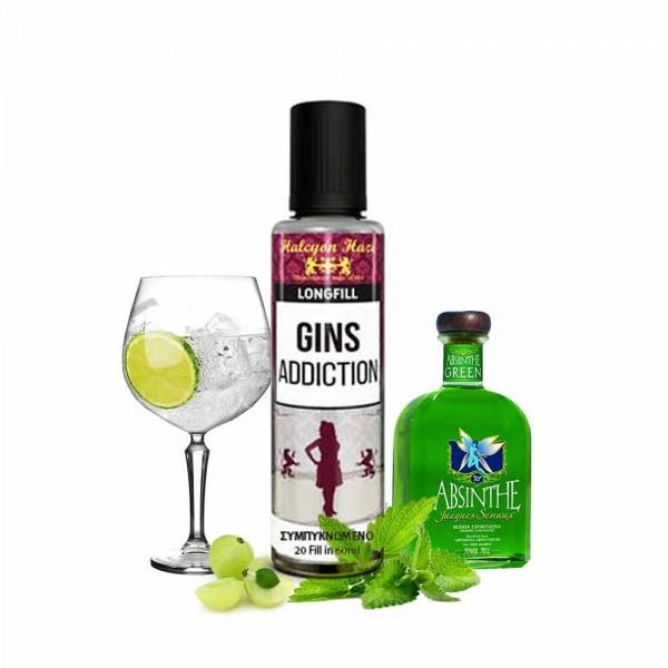 Gin's Addiction Halcyon Haze Shake & Vape