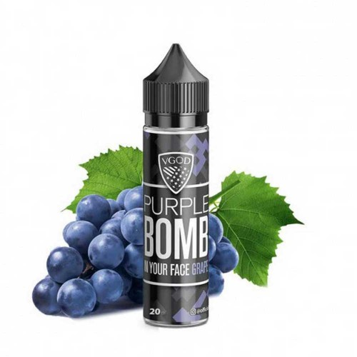 Purple Bomb VGOD Flavor Shot