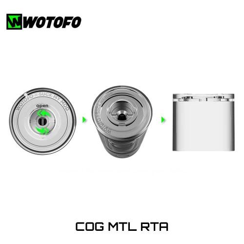 Wotofo COG MTL RTA