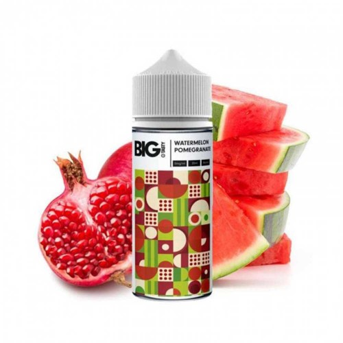 Watermelon Pomegranate The Big Tasty MyVapery Shake and Vape 120ml