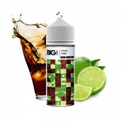 Cola Lime The Big Tasty MyVapery Shake and Vape 120ml